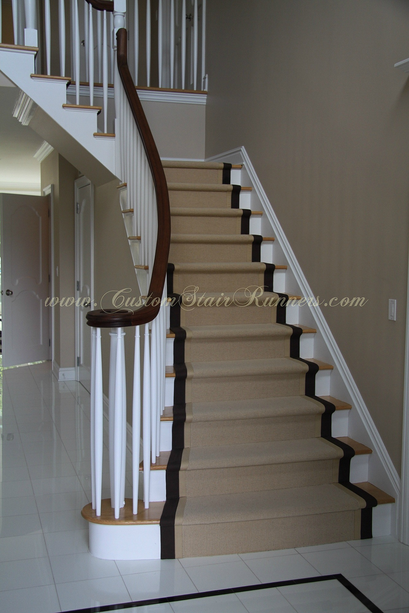 Custom Stair Runners Custom Stair Runners