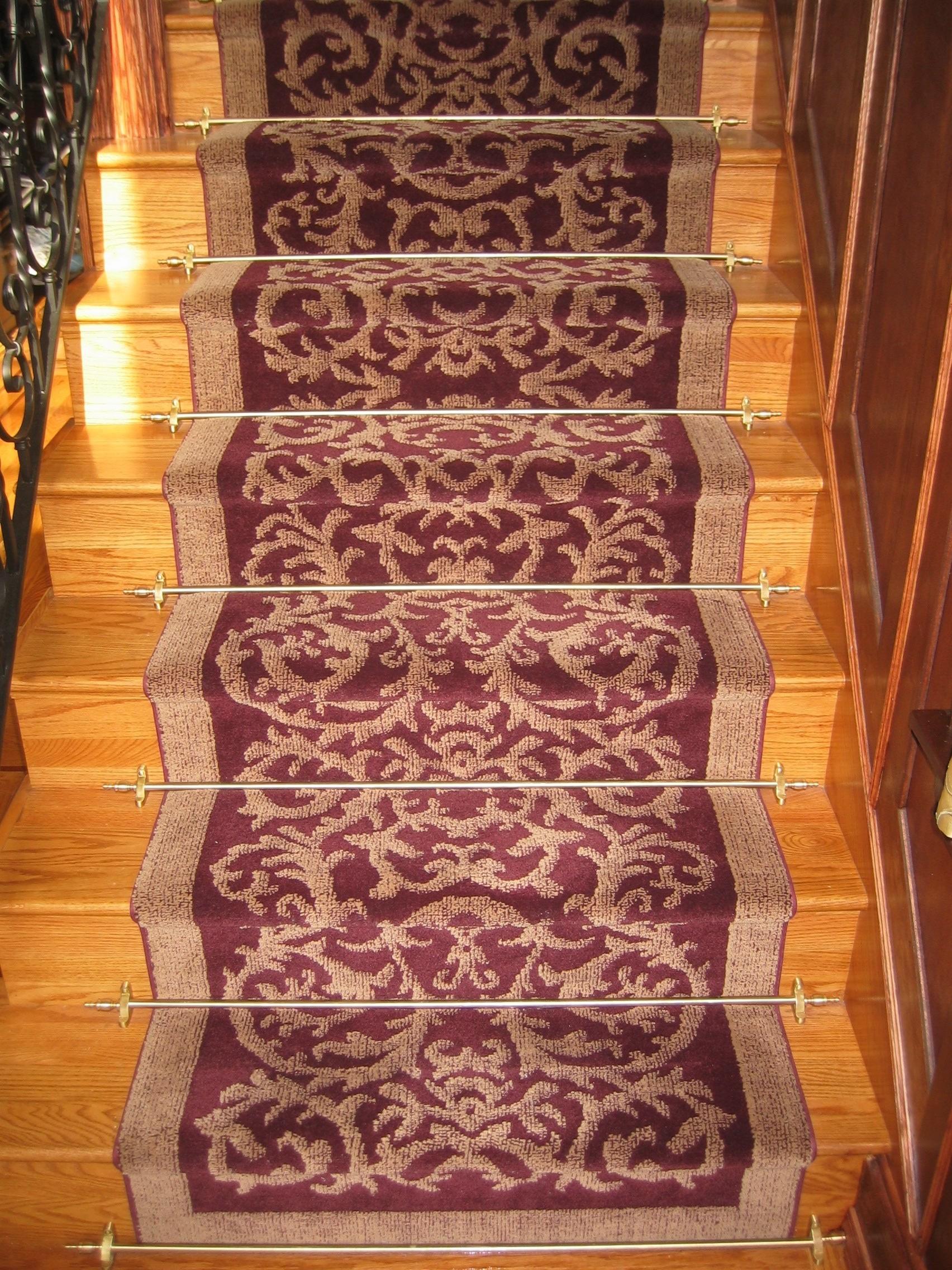 Custom Stair Runners Stair Rods