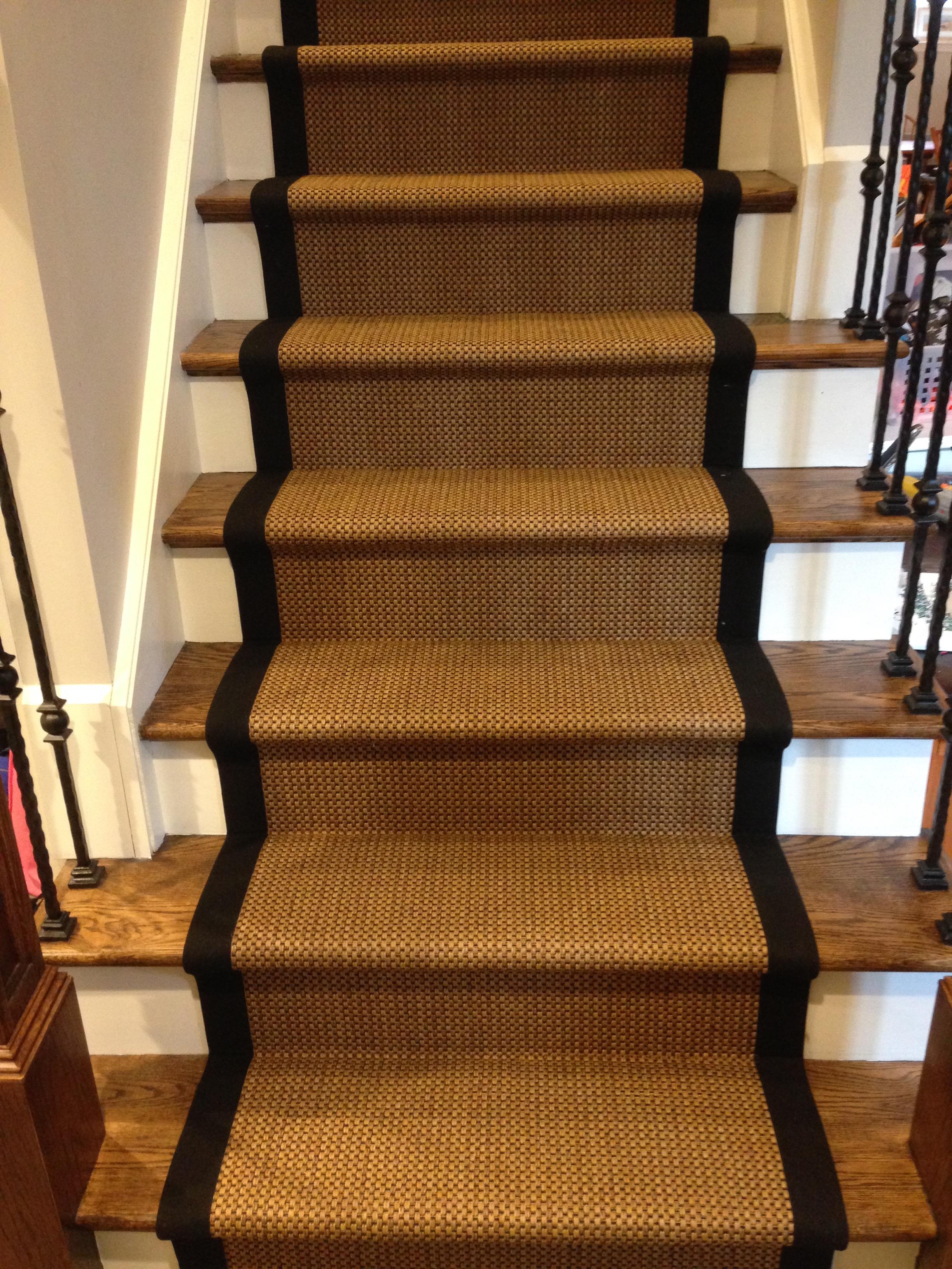 Custom Stair Runners Custom Sisal Runner